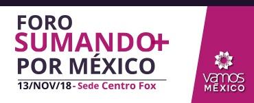 Foro Sumando más por México